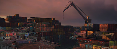 PS Home - No Man's Land - Drydock